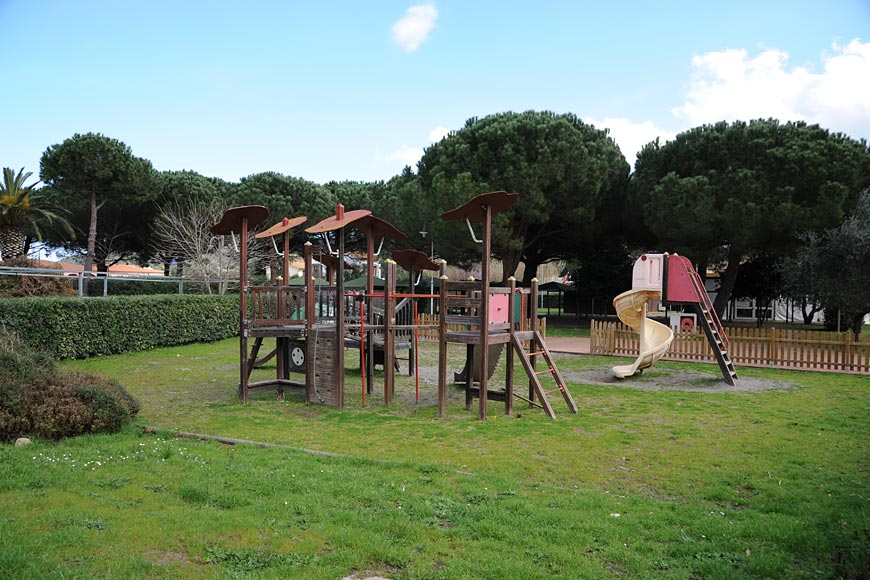 Municipal children's playground